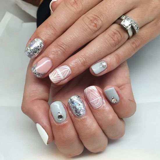 Nails art gia Xristougena12