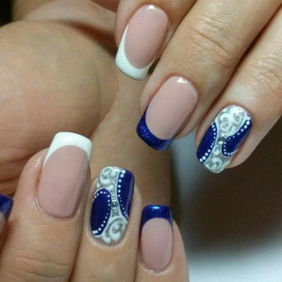Nails art gia Xristougena7
